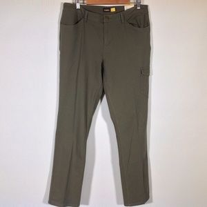 New Cabelas Cargo Pants Womens 16 Army Green